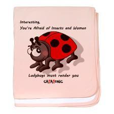 Ladybug Quotes Baby Blankets