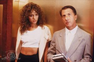Still of Dustin Hoffman and Valeria Golino in Rain Man (1988)