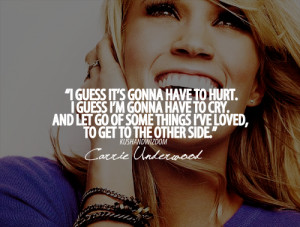 Carrie Underwood Quotes (Images)