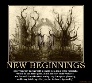 NEW BEGINNINGS -