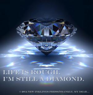 ... diamond refracting light. Quote: