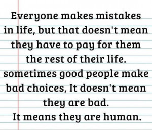 Love Quotes: Everyone Makes Mistakes