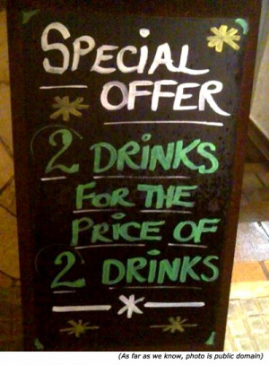 silly-signs-2-drinks-for-price-of-2-drinks.jpg#silly%20drinks ...
