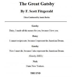 Great Gatsby: Abridged random