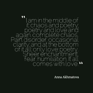 Anna Akhmatova •