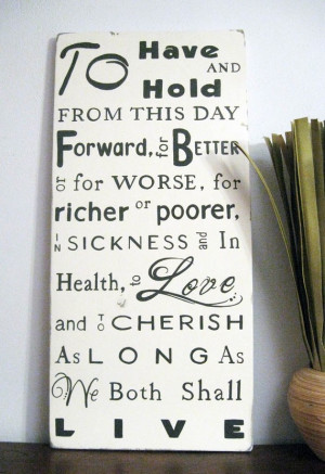 ... Vows, Weddings Pictures, I Vows Quotes, Traditional Marriage Vows