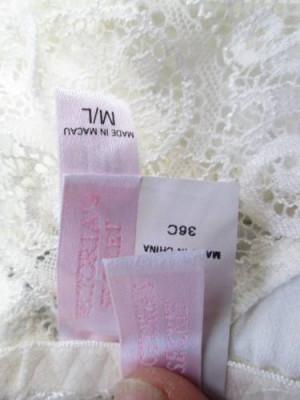 Victorias Secret Sexy Corset Con Ligas Para Novia 36c Ml
