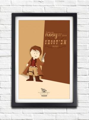 Firefly - Serenity - Malcolm Reynolds 'MAL' - Nathan Fillion - 17x11 ...