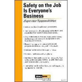 Safety on the Job is Everyone's Business - Supervisor