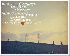 Ways to Raise Boys to be MEN {From a Mom in the Trenches}
