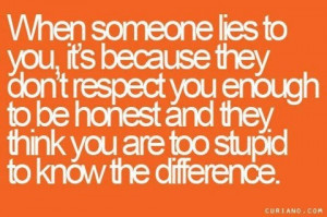 Love catching someone in a lie, not saying anything, but knowing what ...