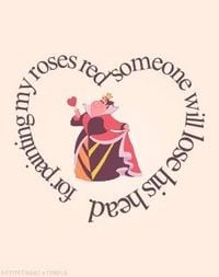Queen of Hearts (Alice in Wonderland) quote