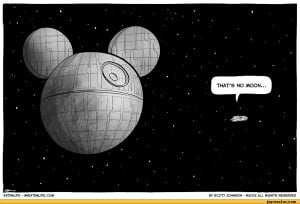 ... strips, cartoons,extralife,Star Wars,death star,disney,mickey mouse