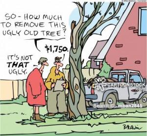 trees cartoons, cutting down trees cartoon, funny, cutting down trees ...