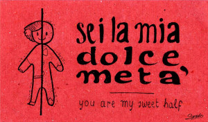Learn to say 'I love you' in italian: in pictures