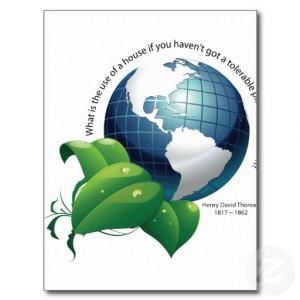 environmental quotes earth environment henry david thoreau quote post ...