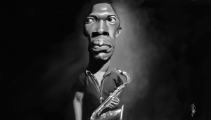 Illustrations: John Coltrane (artist unknown)