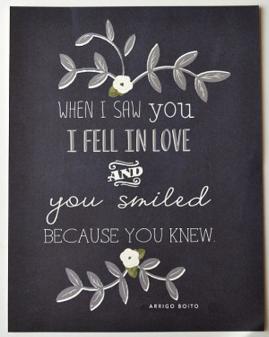 Arrigo Boito Quote Print LOVE Chalkboard Inspired by firstsnowfall, $ ...