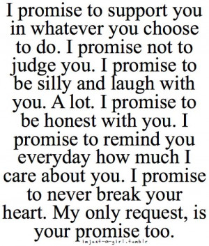 promise you this Ina. Do you promise me???~~~Of course I promise ...
