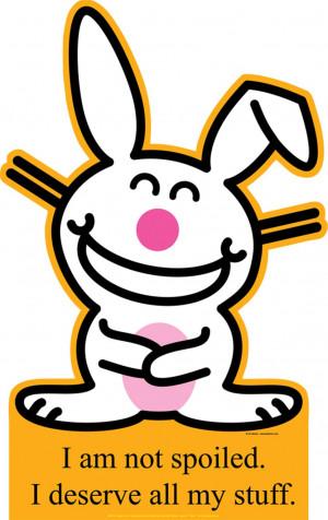 Happy Bunny - Not Spoiled