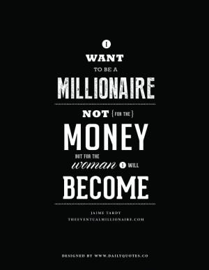 Millionaire Quote