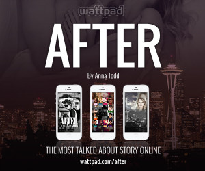 ... rights for after a serialized story by anna todd that has become the