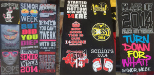 Slogans for senior shirts 2012 Party hard, Rock and Roll, we're the ...
