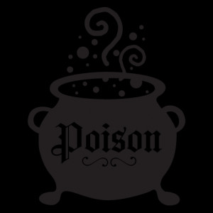 Poison Cauldron Wall Quotes™ Decal