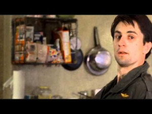 """... come and wash all this scum off the streets."""" From """"Taxi Driver"""