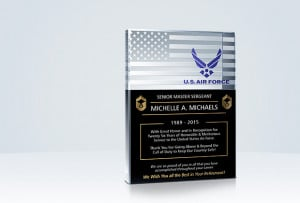 Home » Military Gifts » Military Retirement Plaques