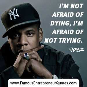 Afraid Of Not Trying.