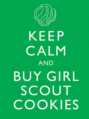 Girl Scout Cookies - Coming Soon!