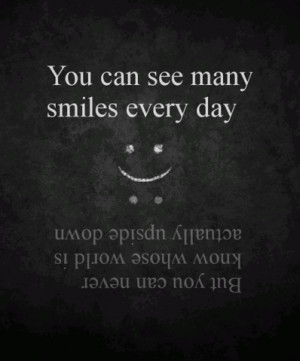 Upside Down Quotes