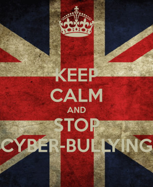 No Cyber Bullying And stop cyber-bullying