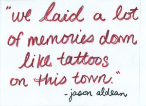 jason aldean quotes from songs