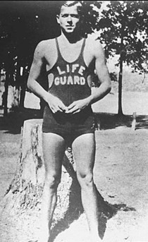 Young Joe Biden was a lifeguard.