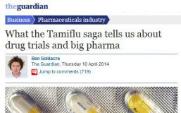 Ben Goldacre in The Guardian on newly udpated Cochrane Tamiflu Review ...