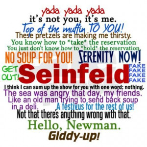 Seinfeld Quotes Jewelry Case on CafePress.com