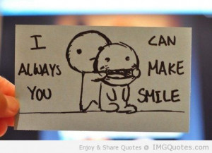 ... always make you smile being in love quote | Free Internet Wallpapers