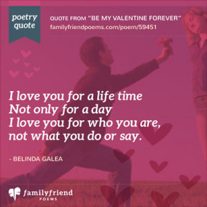 Short Valentine Poems and Quotes