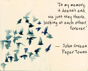 john green, love, paper towns, quotes