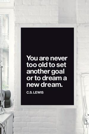 Inspirational Quote Motivational Print Art Wall Decor