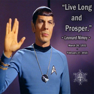 Leonard Nimoy Has Returned home…