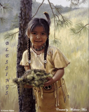 Warrior Buffalo Blessings | Native American Blessings Glitter Graphics ...