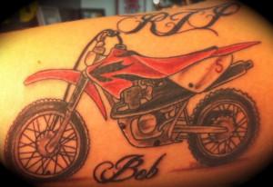 Dirt Bike Tattoos