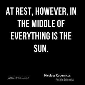 Nicolaus Copernicus Quotes Clinic