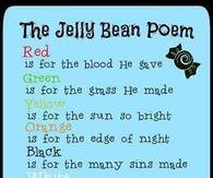 Jelly Bean Easter Poem For Children