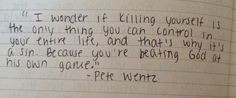 Pete Wentz Quotes