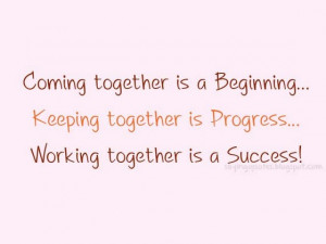 People Coming Together Quotes
