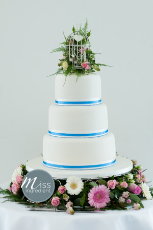 Bird Cage Wedding Cake Topper